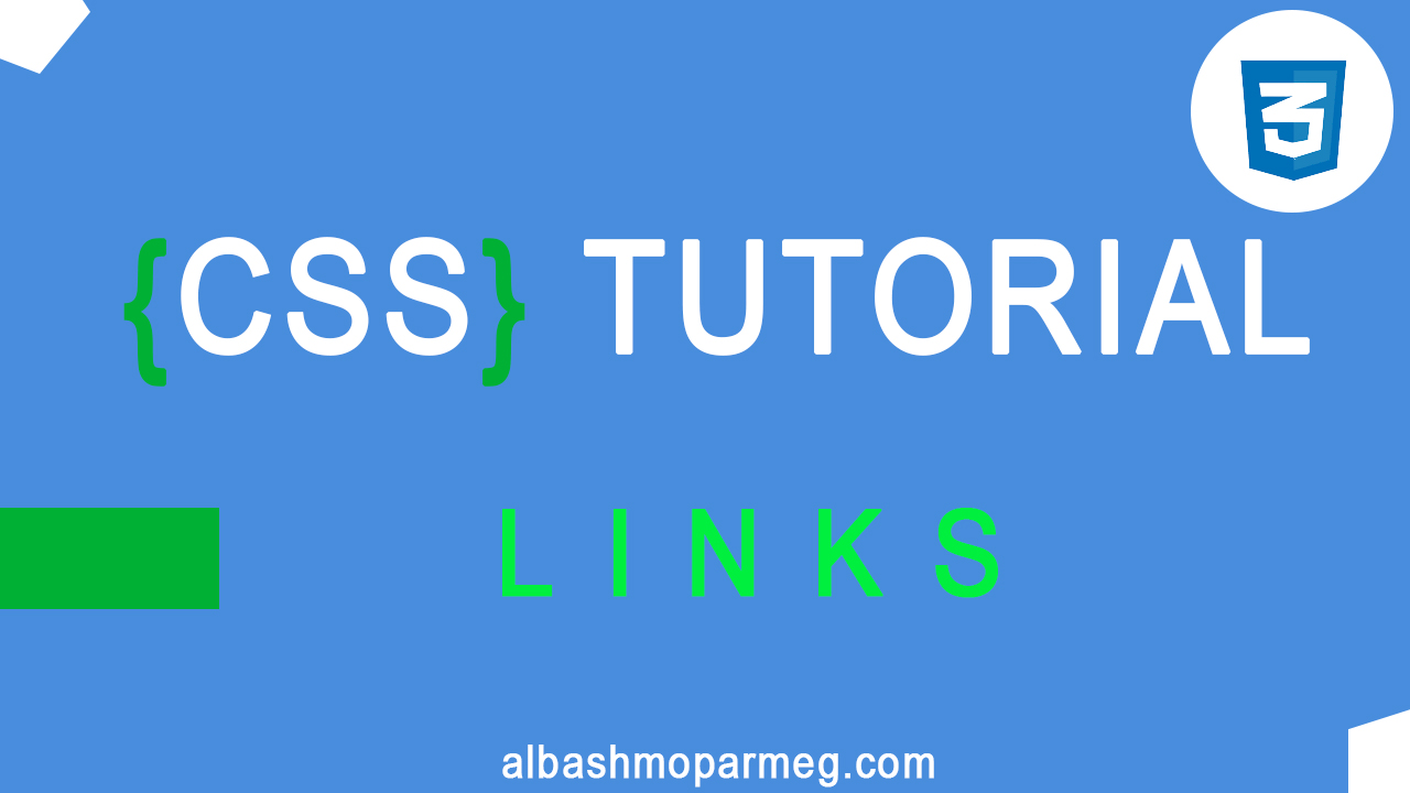 Links-in-css---الباشمبرمج